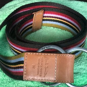 Paul Smith Accessories - Paul Smith double buckle belt
